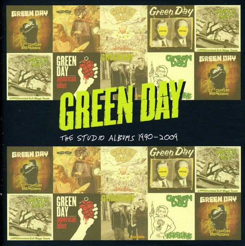 Green Day-Studio Albums 1990-09