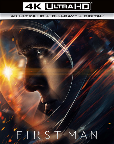 First Man [4K Ultra HD Blu-ray/Blu-ray]