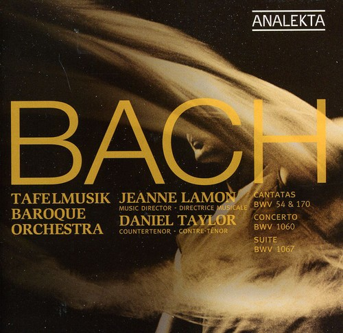Cantatas BWV 54 & 170 /  Concerto BWV /  Orchestral