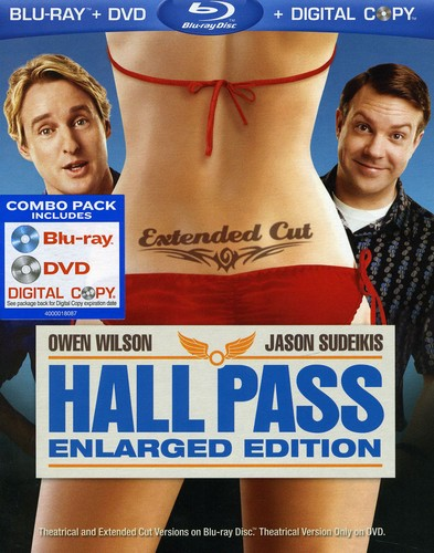 Hall Pass [Enlarged Edition] [2 Discs] [Blu-ray/DVD]