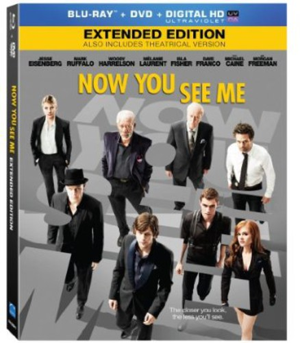 Now You See Me [2 Discs] [Blu-ray/DVD] [UltraViolet]