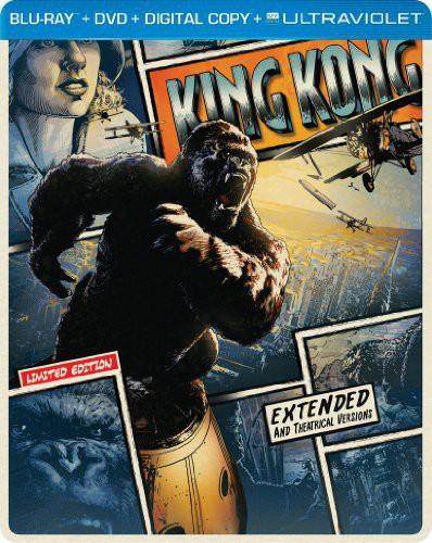 King Kong [2 Discs] [UltraViolet] [SteelBook] [Blu-ray/DVD]