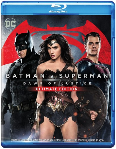 Batman v Superman: Dawn of Justice [Ultimate] [Blu-ray/DVD]