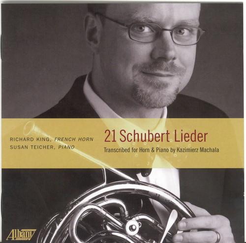 Twenty-One Lieder: Transcribed for French Horn
