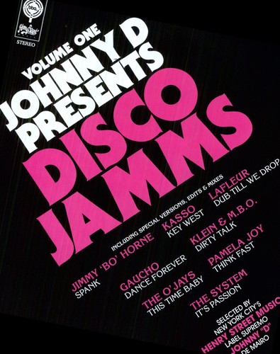 Johnny D Presents Disco Jamms Vol.1