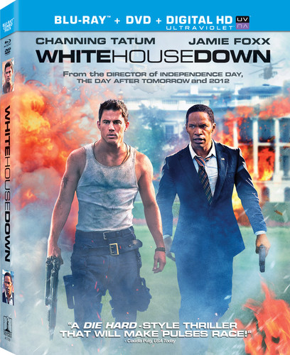 White House Down [2 Discs] [UltraViolet] [Blu-ray/DVD]