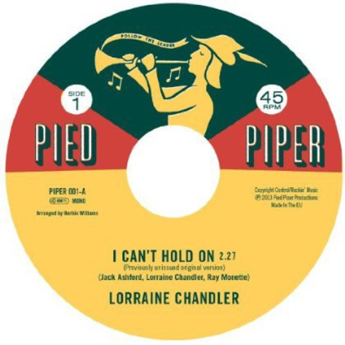 I Can't Hold on /  I'm Not Built That Way [Import]
