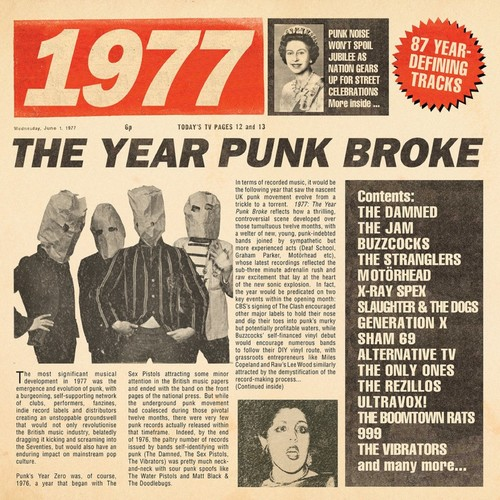 Various Artists, 1977: The Year Punk Broke / Various [Import]