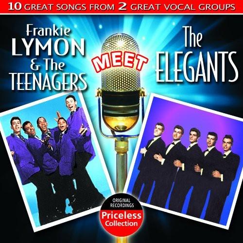 Frankie Lymon and The Teenagers Meet The Elegants