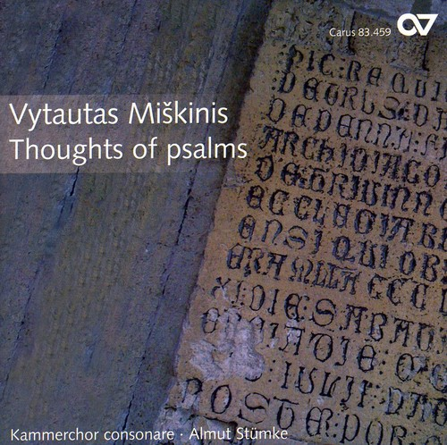 Thoughts of Psalms: Contemporary Choral Lithuania