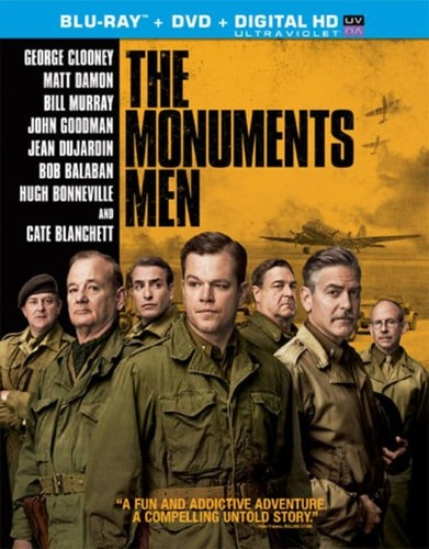 Monuments Men [2 Discs] [UltraViolet] [Blu-ray/DVD]
