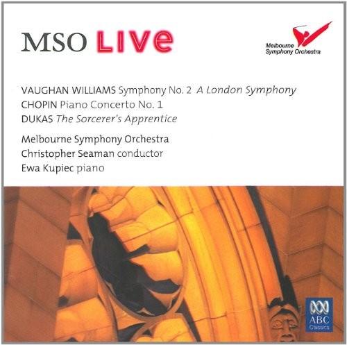 Chopin: Pno Cto No 1 /  Vaughan Williams: Sym No 2