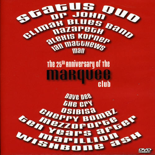 Marquee Club 25th Anniversary [Import]
