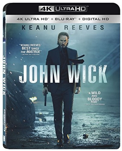 John Wick [4K Ultra HD Blu-ray/Blu-ray] [UltraViolet]