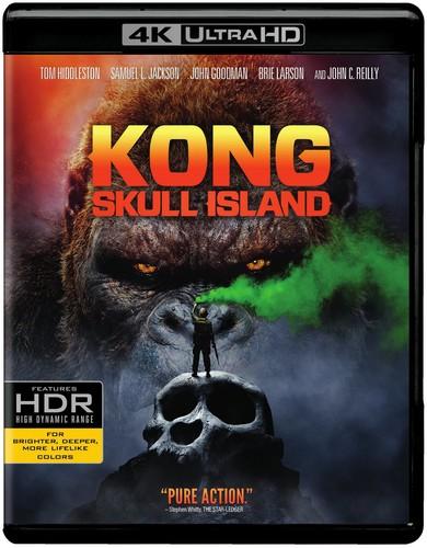 Kong: Skull Island [4K Ultra HD Blu-ray/Blu-ray]