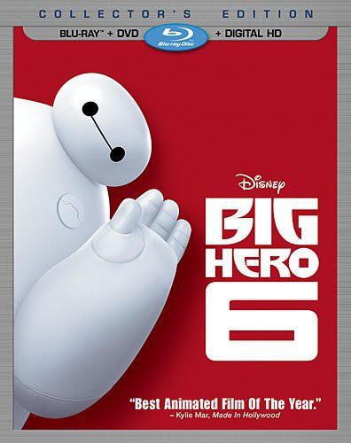 Big Hero 6 [2 Discs] [Blu-ray/DVD]