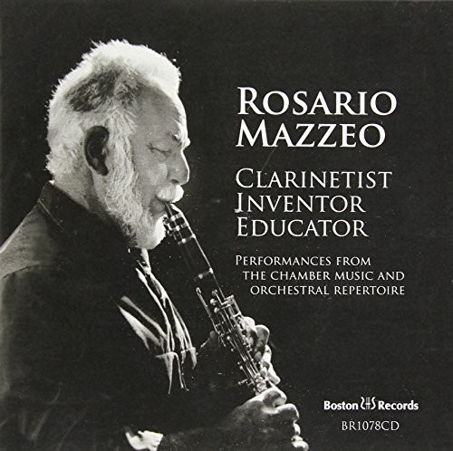 Clarinet Performances By Rosario Mazzeo