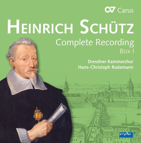 Heinrich Schutz: Complete Recording /  Box 1