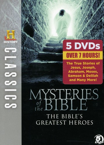 History Classics: Mysteries Of The Bible: The Bibles Greatest Heroes[Boxset]