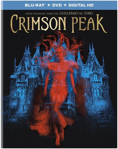 Crimson Peak [UltraViolet] [Blu-ray/DVD] [2 Discs]
