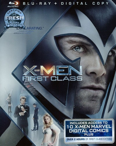 X-Men: First Class [2 Discs] [Blu-ray]