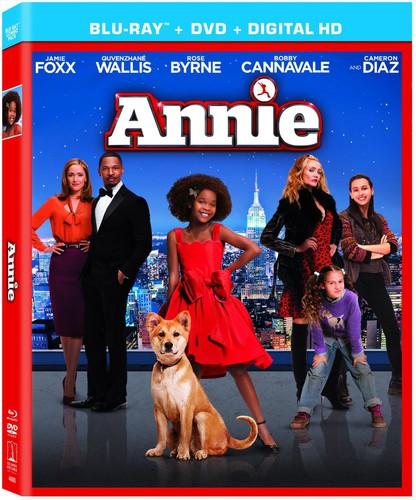 Annie [2 Discs] [Ultraviolet] [Blu-ray/DVD]