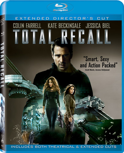 Total Recall [2 Discs] [UltraViolet] [Blu-ray]