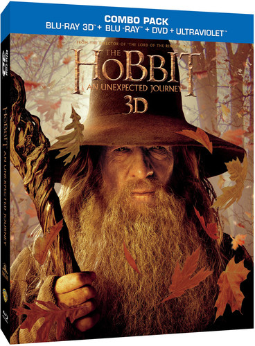 Hobbit: An Unexpected Journey [4 Discs] [UltraViolet] [2D/3D] [Blu-ray]