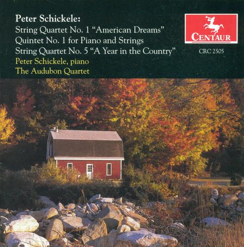 String Quartet 1: American Dreams /  Quintet 1