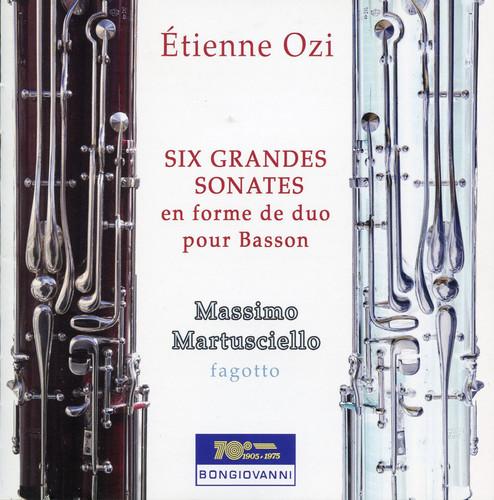 Six Grandes Sonates en Forme de Duo Pour Basson