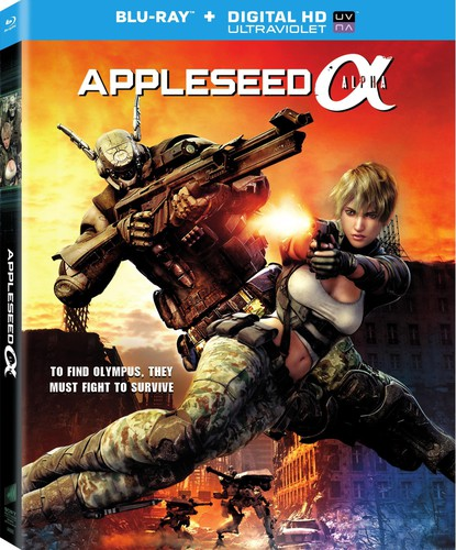 Appleseed Alpha [UltraViolet] [Blu-ray]