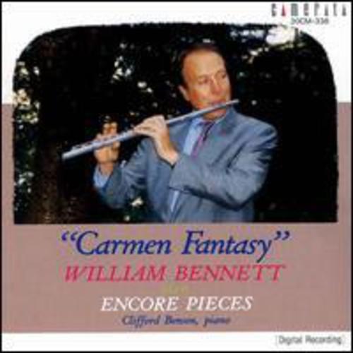Plays Flute Encores