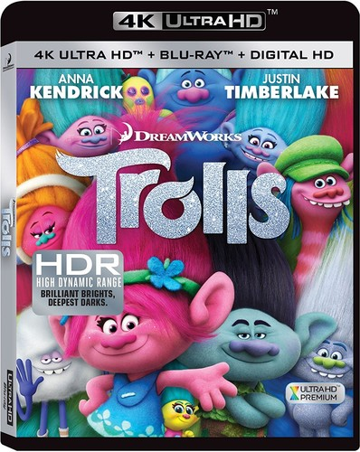 Trolls [4K Ultra HD Blu-ray/Blu-ray]