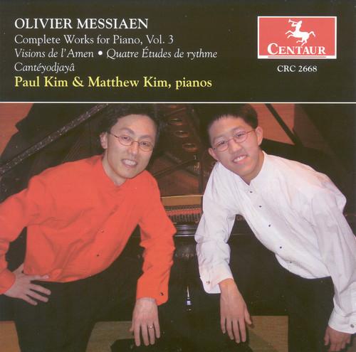 Visions de L'amen for 2 Pianos /  Quatre Etudes