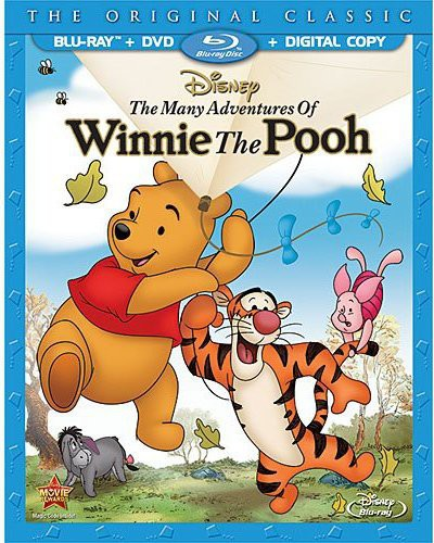 Many Adventures of Winnie the Pooh [Blu-ray/DVD]