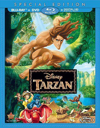 Tarzan [2 Discs] [Blu-ray/DVD]