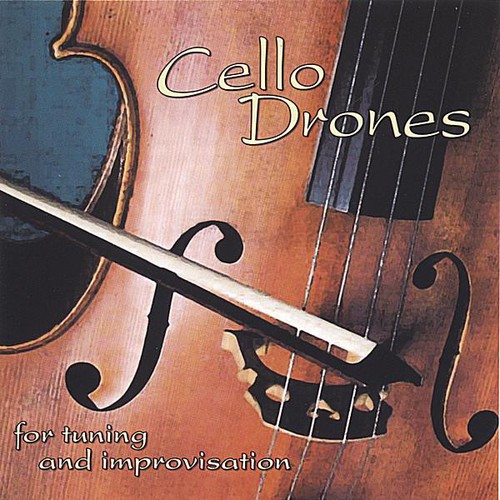 Cello Drones for Tuning and Improvisation