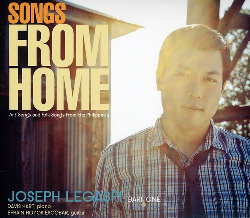 Songs from Home: Art Songs & Folk Songs from the Philippines
