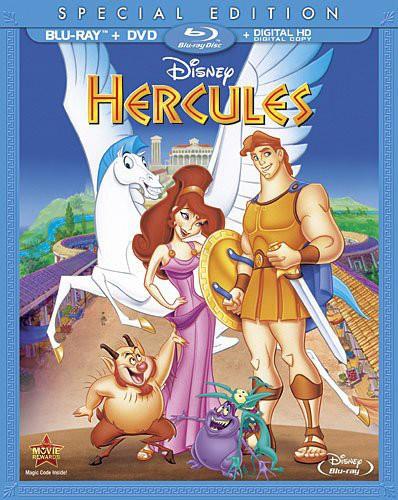 Hercules [2 Discs] [Blu-ray/DVD]