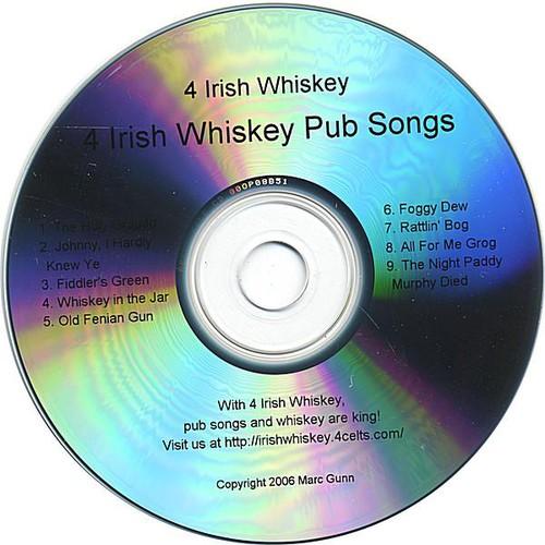 4 Irish Whiskey Pub Songs