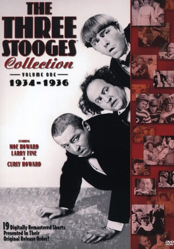 The Three Stooges Collection: Volume 1: 1934-1936