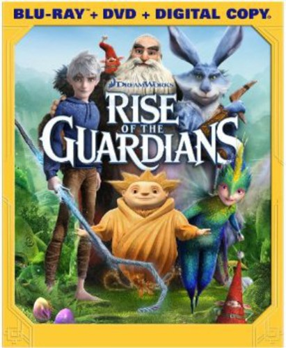 Rise of the Guardians [2 Discs] [UltraViolet] [Blu-ray/DVD]