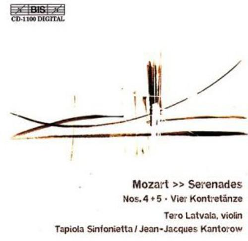 Serenades /  4 Contradances