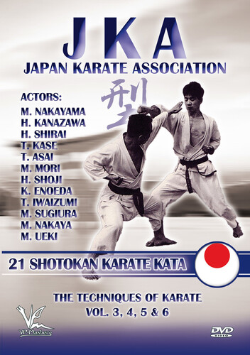 Jka-Japan Karate Association: 21 Shotokan Karate Kata