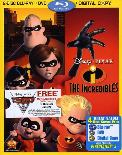Incredibles [4 Discs] [Blu-ray/DVD]
