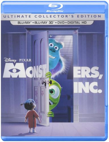 Monsters, Inc. [5 Discs] [2D/3D] [Blu-ray/DVD]