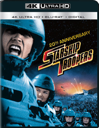 Starship Troopers [20th Anniversarty Ed.] [UltraViolet] [4K Ultra HD Blu-ray]