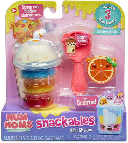 Num Noms Snackables Silly Shakes Rainbow Slushie Collectibles On