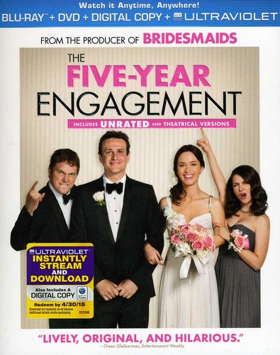 Five-Year Engagement [2 Discs] [UltraViolet] [Blu-ray/DVD]