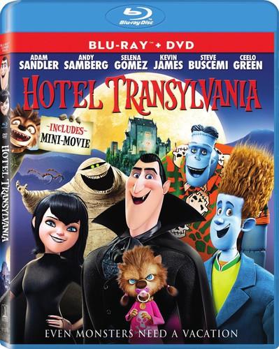Hotel Transylvania [2 Discs] [UltraViolet] [Blu-ray/DVD]